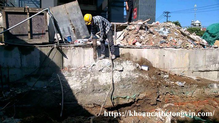 Đục phá bê tông tại TpHCM 1