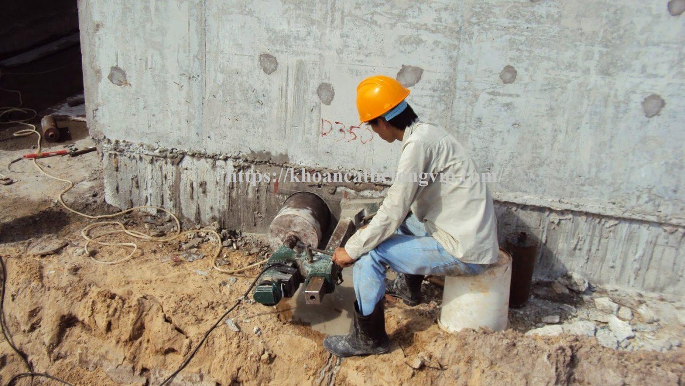 Khoan cắt bê tông TpHCM thi công đảm bảo tiến độ công trình