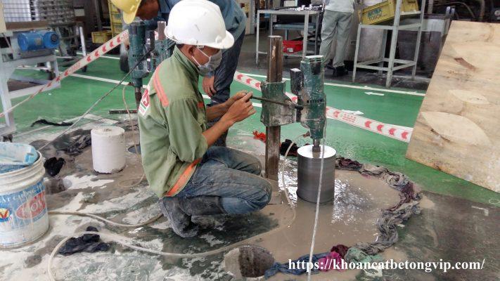 Khoan cắt bê tông huyện Hóc Môn