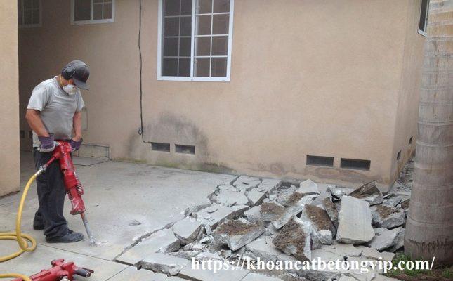 Khoan cắt bê tông quận Bình Tân 2