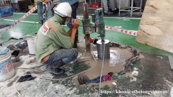 Khoan cắt bê tông quận Phú Nhuận