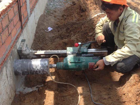 Khoan cắt bê tông huyện Bàu Bàng