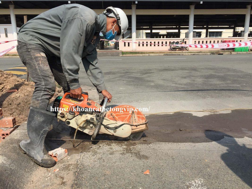 Khoan cắt bê tông huyện Bắc Tân Uyên_1