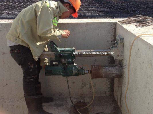 Khoan cắt bê tông huyện Dầu Tiếng