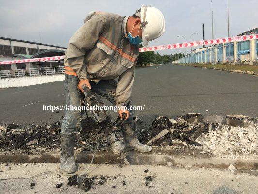 Khoan cắt bê tông huyện Trảng Bom