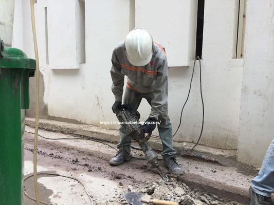 Khoan cắt bê tông huyện Côn Đảo