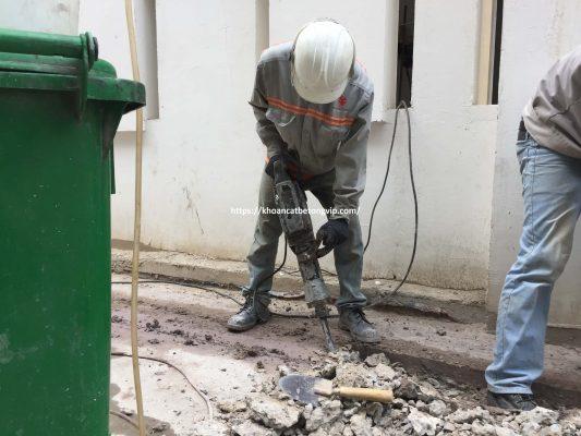Khoan cắt bê tông huyện Long Điền