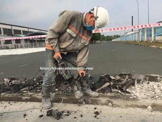 Khoan cắt bê tông huyện Tân Phú
