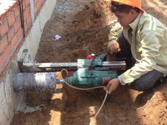 Khoan cắt bê tông huyện Xuân Lộc