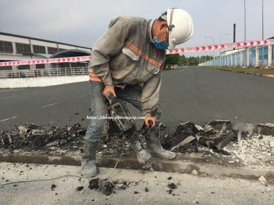 Khoan cắt bê tông thành phố Bà Rịa