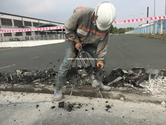 Khoan cắt bê tông thành phố Vũng Tàu