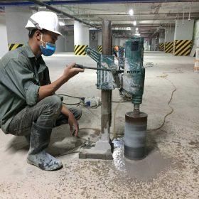 Khoan cắt bê tông Ninh Thuận thi công nhanh, giá rẻ nhất thị trường