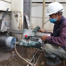Thi công khoan cắt bê tông tại Quảng Nam Giá Rẻ Nhất Thị Trường